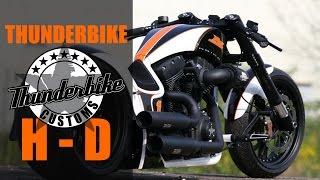 "getlinkyoutube.com-Harley Davidson Screamin Eagle ""RSR"" by Thunderbike | Motorcycle Dragster Custom Review"
