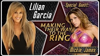 getlinkyoutube.com-Mickie James Interview | Lilian Garcia: Making Their Way To The Ring
