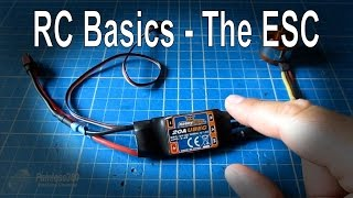 RC Basics - Understanding Electronic Speed Controllers (ESC)