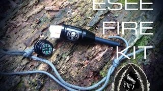 getlinkyoutube.com-Black Scout Reviews - ESEE Fire Kit