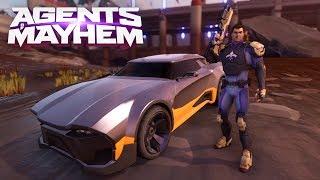 Agents of Mayhem - 'Ride For Mayhem' Trailer
