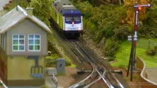 getlinkyoutube.com-Model Train Modular Layout in H0 Scale with sexy Scenery