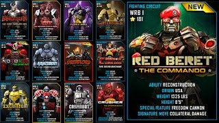 Real Steel WRB RED BERET Series of Fights NEW ROBOT UPDATE
