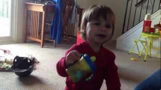 getlinkyoutube.com-baby's first real temper tantrum
