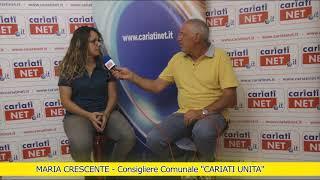Intervista   MARIA CRESCENTE consigliere comunale