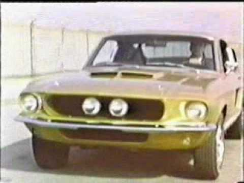 1967 Ford Mustang Shelby Commercial