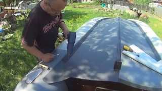 getlinkyoutube.com-Усиление лодки ПВХ своими руками