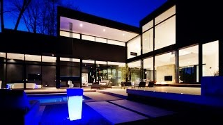 getlinkyoutube.com-Stunning Unique Contemporary Modern Luxury Residence in South West Oakvilleby, Canada