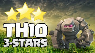 TH10 3-STARS ON COMMON BASES
