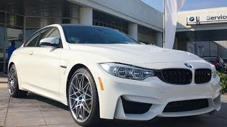 getlinkyoutube.com-2017 BMW M4 Coupe Full REVIEW, Start Up, Exhaust (M Competition Package)