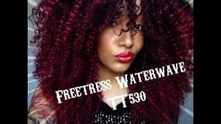 getlinkyoutube.com-Crochet braids Freetress water wave