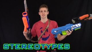 getlinkyoutube.com-NERF STEREOTYPES | THE WILD CARD