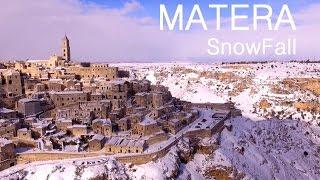 MATERA SnowFall