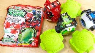 ゴーストアイコンの新びっくらたまご!闘魂カラーのプレートが全6種 3個投入レビュー!仮面ライダーゴースト