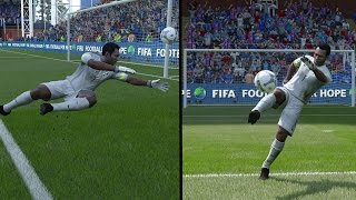 getlinkyoutube.com-FIFA 16 - PELE PLAYING GOALKEEPER!