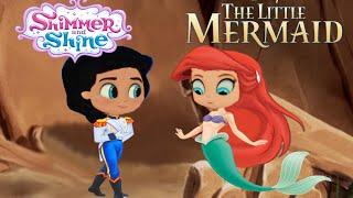 getlinkyoutube.com-Shimmer and Shine Episode Color Disney The Little Mermaid