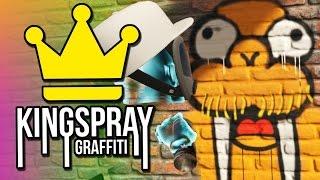 getlinkyoutube.com-Kingspray Graffiti VR - Virtual Reality Graffiti Painting