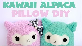 getlinkyoutube.com-Kawaii Alpaca Pillow Tutorial