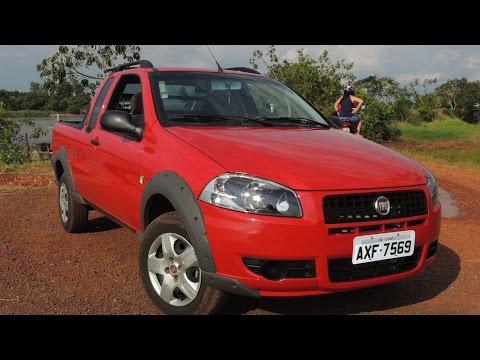 Fiat Strada Working 2013 Cabine Estendida!