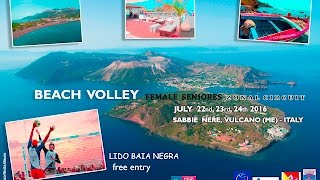 Vulcano Beach Volley - female seniores zonal circuit 2016