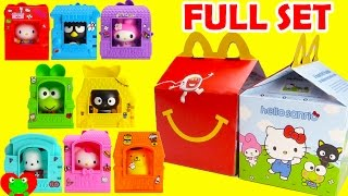 getlinkyoutube.com-2016 Hello Sanrio McDonald's Happy Meal Toys Hello Kitty Full Set