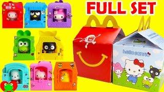 2016 Hello Sanrio McDonald's Happy Meal Toys Hello Kitty Full Set