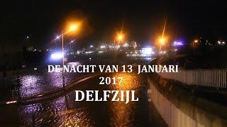 getlinkyoutube.com-De nacht van 13 januari. Hoog water in de Haven van Delfzijl