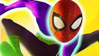 getlinkyoutube.com-Marvel Superhero IRL Color Mix-Up Avengers Spider-man Toys Kids Children Toddlers