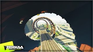 getlinkyoutube.com-CRAZY SPIRAL AROUND THE BRIDGE | GTA 5 Funny Moments | E668 (GTA 5 PS4)