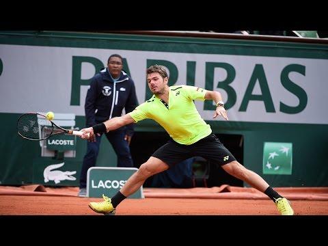 Wawrinka v Ramos Vinolas 2016 Roland-Garros Men`s Highlights - 1/4