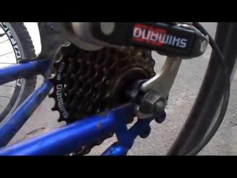 Люфт, шат задней звезды на велосипеде, как убрать, в чем причина. Задние звезды велосипеда