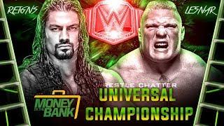 Roman Reigns Vs Brock Lesnar Match At Money in the Bank 2018 ? WWE Money in the Bank 2018 Match Card
