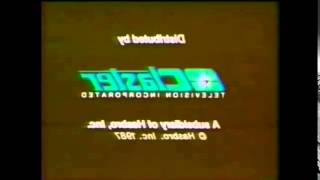 Not Sure What I Did To Claster Television Logo (1987)