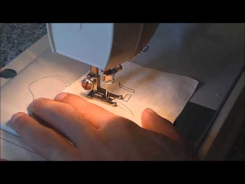 Máquina de coser. 6. Bordado.