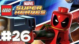 LEGO Marvel Superheroes - LEGO BRICK ADVENTURES - Part 26 - StanHulk! (HD Gameplay Walkthrough)