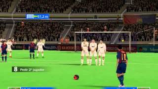 getlinkyoutube.com-BARCELONA  VS REAL MADRID FIFA07  ACTUALIZADA 2014
