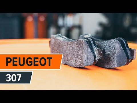 Jak wymienic tylne tarcze hamulcowe i tylne klocki hamulcowe w PEUGEOT 307 TUTORIAL | AUTODOC