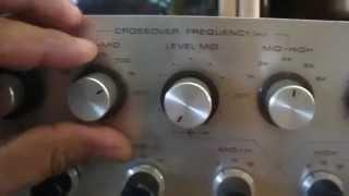 getlinkyoutube.com-Pioneer SF-700 Electronic Crossover, For Sale !