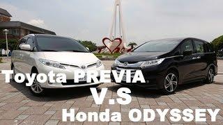 getlinkyoutube.com-旗鼓相當 Toyota PREVIA v.s. Honda ODYSSEY