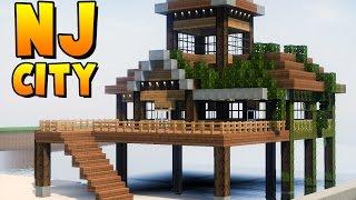 getlinkyoutube.com-✔ Minecraft Cidade Moderna - SUPER RESTAURANTE RÚSTICO NA PRAIA ‹ MANYA ›
