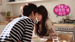 getlinkyoutube.com-140118 Lee Won Geun with Minah Girl's Day for CF L