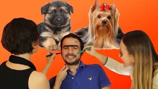 getlinkyoutube.com-Bu Köpeğin Cinsi Ne? - Yüz Boyama Cezalı Yarışma