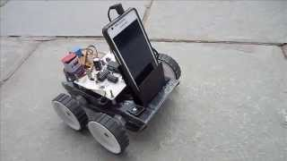 getlinkyoutube.com-Voice Controlled Robot using Android Mobile