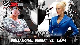 getlinkyoutube.com-WWE 2K15 (PC) Sensational Sherri vs Lana
