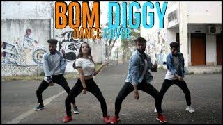 Dance cover | Zack Knight x Jasmin Walia - Bom Diggy | hip-hop dance