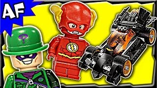getlinkyoutube.com-Batman The RIDDLER CHASE 76012 Lego DC Comics Super Heroes Stop Motion Build Review