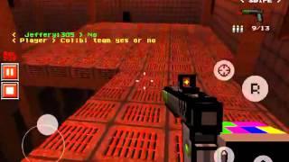 "getlinkyoutube.com-Silent School Deathmatch Gameplay! ""Eat My Led!""  Pixel Gun 3D (Update 1.7.0)"