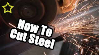 getlinkyoutube.com-How to Cut Steel, Go Kart Frame Build