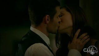 The Originals 4x03 Elijah & Hayley date, Kiss & Hot sex