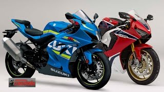 getlinkyoutube.com-CBR1000RR vs GSX-R1000 ค่ายคนดี ปะทะ ค่ายคนบ้า เปิดจองมอเตอร์โชว์ 2560 : motorcycle tv
